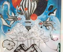 Sixth Form Colleges Association - Cloud Land Art Exhibition