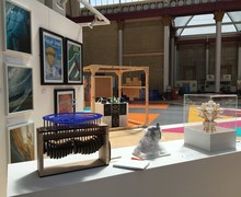 Sixth Form Colleges Association - Cloud Land Art Exhibition